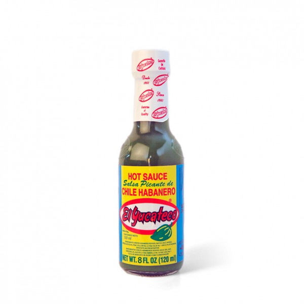 El Yucateco Green Hot Sauce-Salsa Picante de Chile Habanero, 237ml