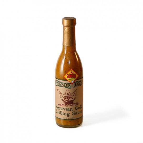 Tobago Keys Peruvian Gold Grilling Sauce, 355ml