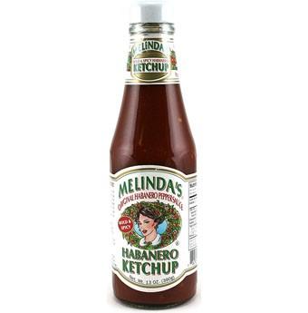Melindas Bold & Spicy Habanero Ketchup, 384ml