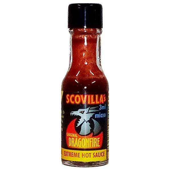 Scovillas Dragonfire Extreme Hot Sauce, 3ml