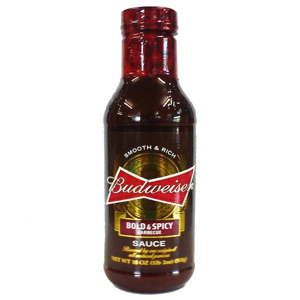Budweiser Bold & Spicy Barbecue Sauce, 532ml