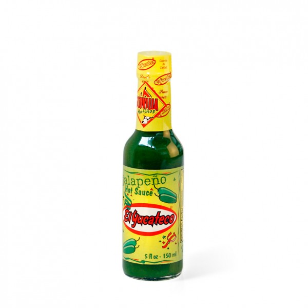 El Yucateco Green Jalapeno - Hot Sauce, 148ml