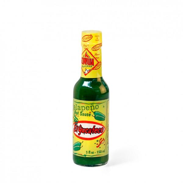 El Yucateco Green Jalapeno - Hot Sauce, 148ml