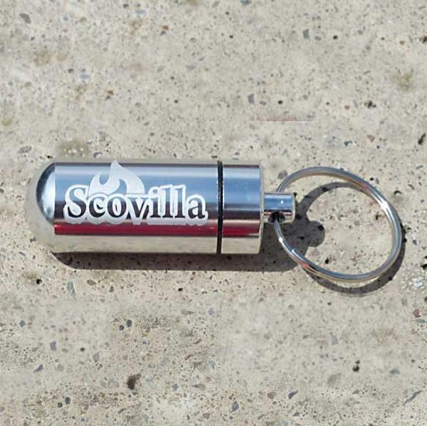 Scovilla Key-Bomb mit Inhalt, silber-metallic