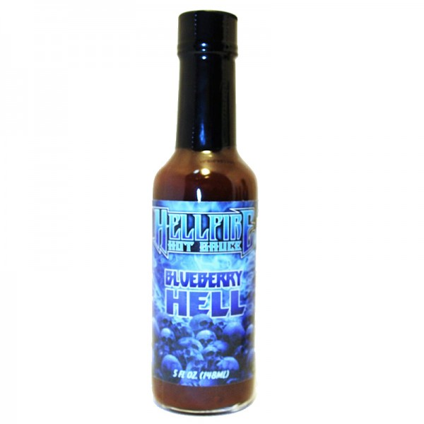 Hellfire Hot Sauce Special Reserve with the Carolina Reaper Blue, 148ml