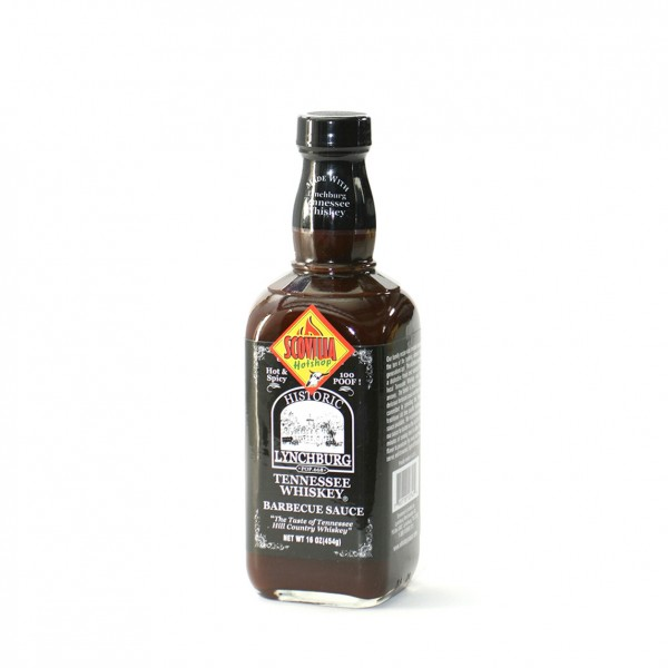Lynchburg Hot and Spicy BBQ-mit Jack Daniel`s 1OO Proof, 473ml