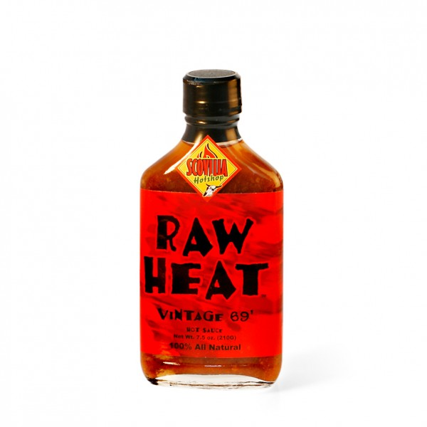 Raw Heat Vintage 69` - Hot Sauce, 207ml