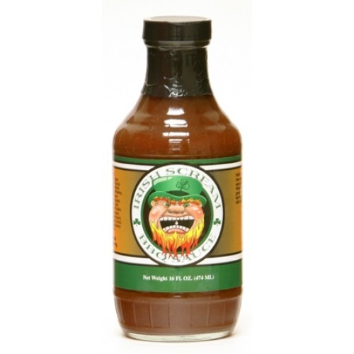 CaJohns Irish Scream BBQ Sauce, 474ml