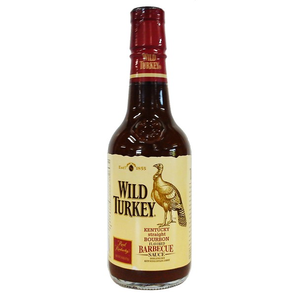 Wild Turkey Kentucky Straight Bourbon Flavored Barbecue Sauce, 444ml