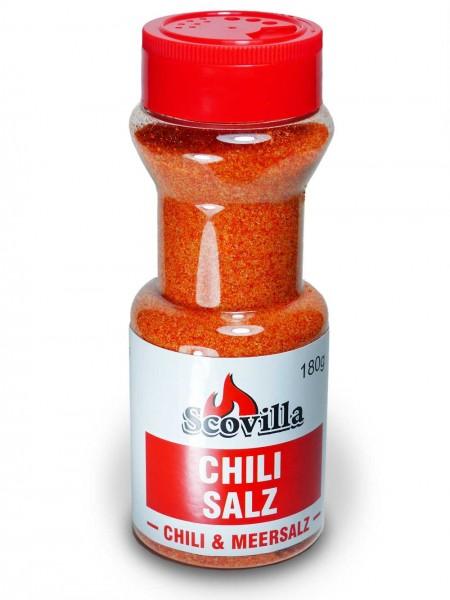 Scovillas Chilisalz im Shaker, 180g