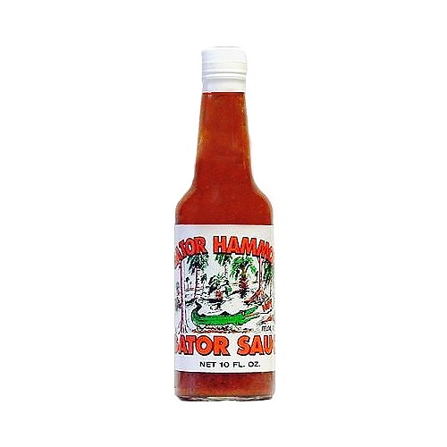 Gator Hammock Hot Gator Sauce, 296ml