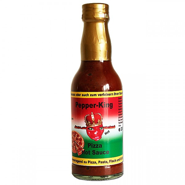 Pepper King Pizza Hot Sauce, 200ml