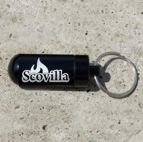 Scovilla Key-Bomb mit Inhalt, Alu schwarz