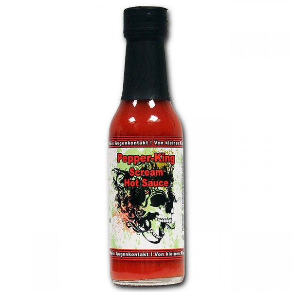 Pepper King Scream Hot Sauce, 147ml