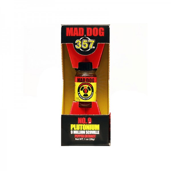 Mad Dog 357 No.9 Plutonium 9 Million Scoville Pepper Extract, 29ml