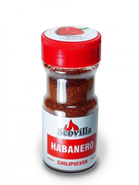 Scovillas Habanero, Chilipulver im Shaker, 50g