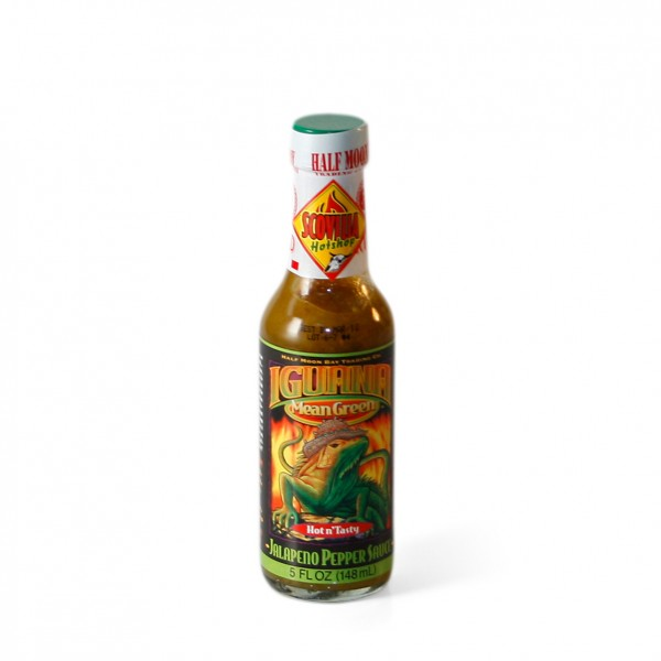 Iguana Mean Green - Jalapeno Pepper Sauce, 148ml