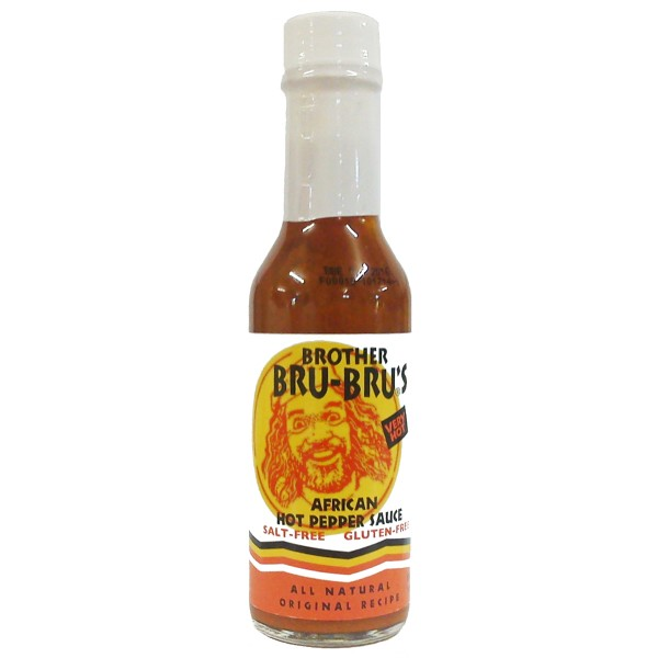 Brother Bru Bru`s - African Hot Sauce, 148ml