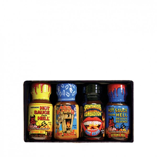 Xtreme Heat Hot Minis Ass Blasterb & Co, 4x22ml
