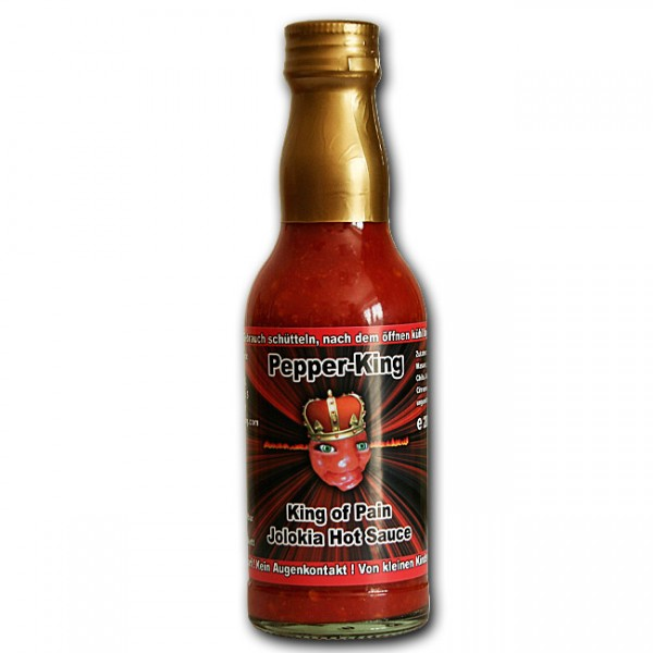 Pepper King, King of Pain Hot Sauce, 200ml