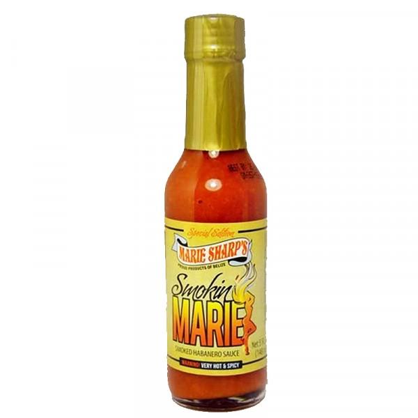 Marie Sharps Smokin' Marie Pepper Sauce, 148ml