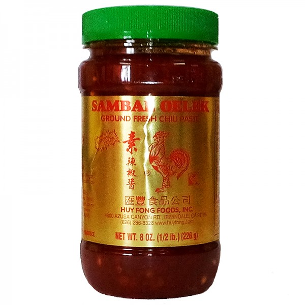 Huy Fong Sambal Oelek Chili Paste, 226g