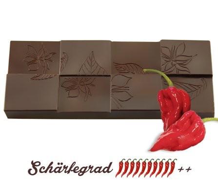 Chili Schokolade Bhut Jolokia, 45g