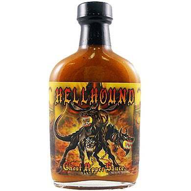 Hellhound Ghost Pepper Sauce, 170ml