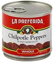 La Preferida Chipotle ChilisIn Spicy Adoba Sauce, 200g