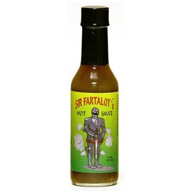 Sir Fartalot Hot Sauce, 148ml