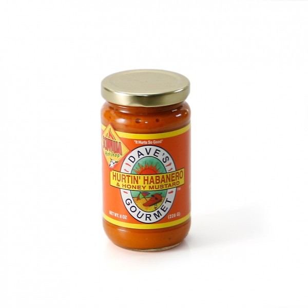 Daves Gourmet Hurtin Habanero & Honey Mustard, 237ml