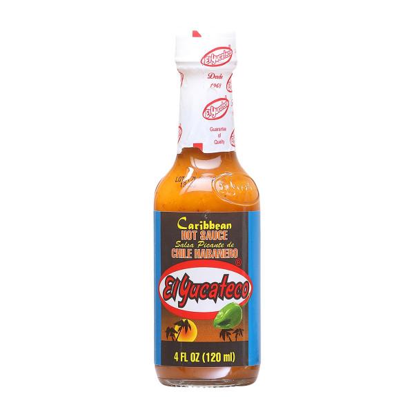 El Yucateco Caribbean Chile Habañero, Hot Sauce, 120ml