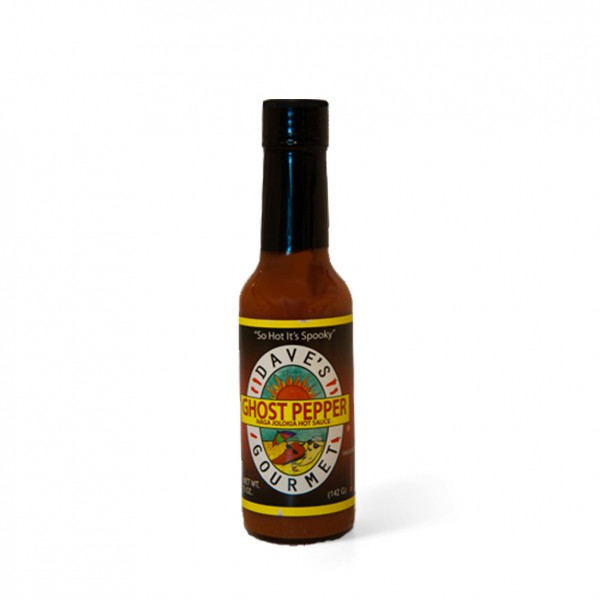 Daves Gourmet Ghost Pepper Naga Jolokia Hot Sauce, 148ml