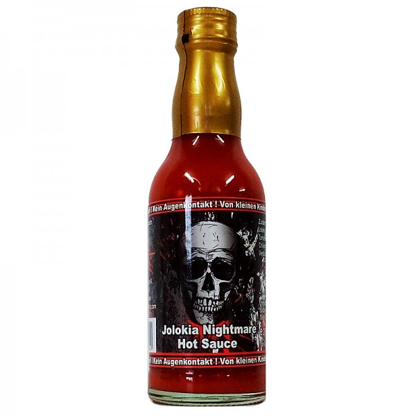 Pepper King Jolokia Nightmare Hot Sauce, 200ml