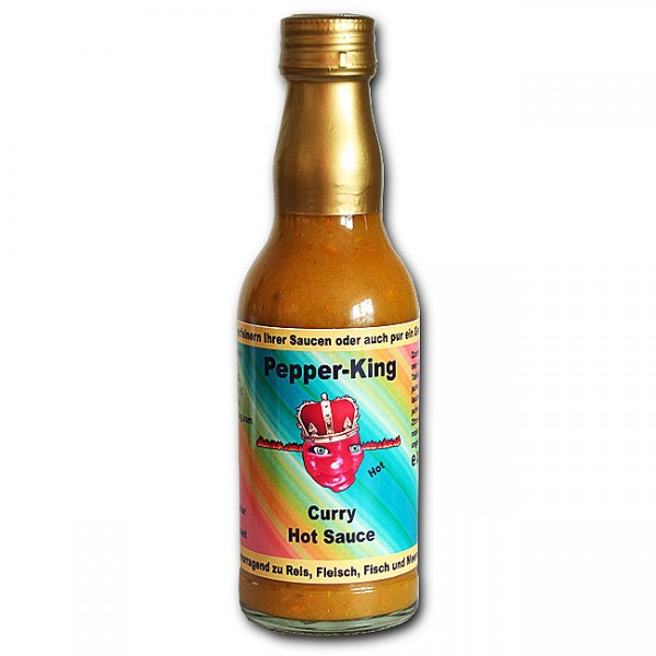 Pepper King Curry Hot Sauce, 200ml