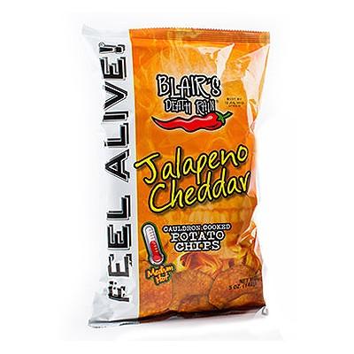 Blairs Death Rain Jalapeno Cheddar Chips, 142g