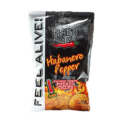 Blairs Death Rain Original Habanero Chips, 142g