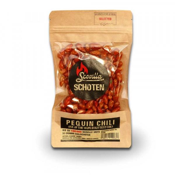 Scovillas Pequin Chili Schoten, getrocknet, 30g