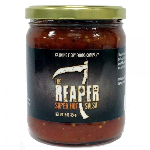 CaJohns The Reaper Super Hot Salsa, 454g
