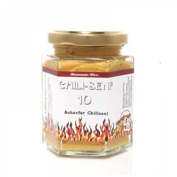 Shamanic Fire Chili-Senf 1O, 190ml