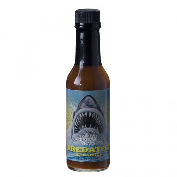 Great White Shark Predator Hot Sauce, 148ml