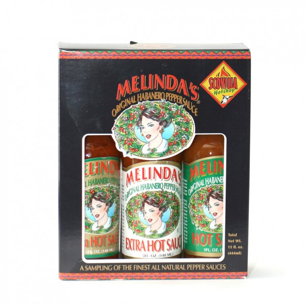 Melindas 3 Pack Gift Set, 3 x 148ml