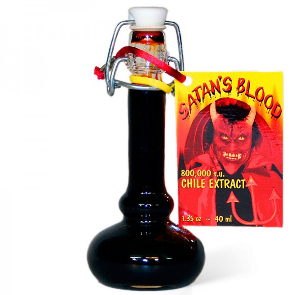 Satans Blood Chile Extract, 40ml