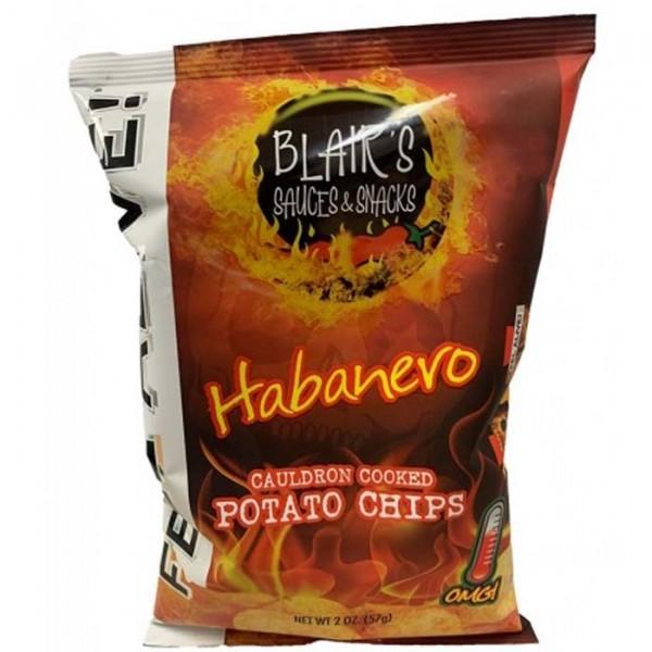 Blairs Death Rain Original Habanero Chips, 57g