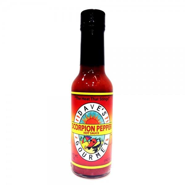 Daves Scorpion Hot Sauce, 148ml