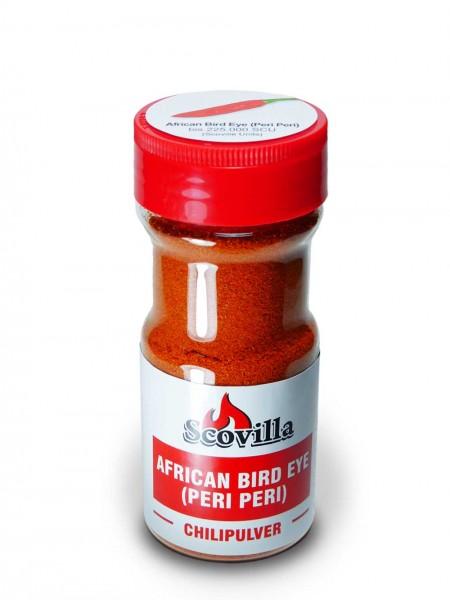 Scovillas Peri Peri, Chilipulver im Shaker, 50g