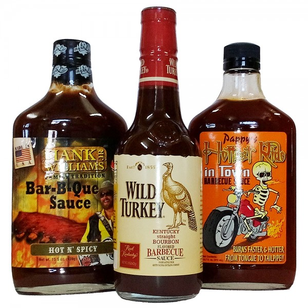"BBQ PACK ""Hot, Spicy, Smoked & Jack"" 100958, 100965, 100862"
