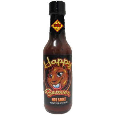 CaJohn´s Happy Beaver Hot Sauce, 148ml
