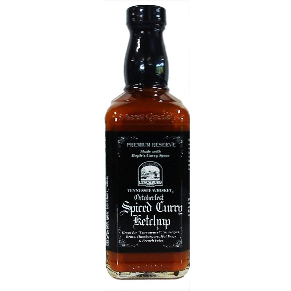 "Lynchburg Tennessee Whiskey ""Octoberfest"" Curry Ketchup, 444ml"