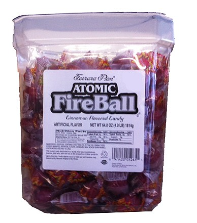 Atomic Fireballs 240 Stück Plastikspender